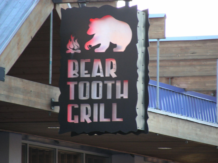 9) Bear Tooth Grill