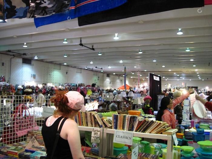 3) Memphis International Flea Market - Memphis