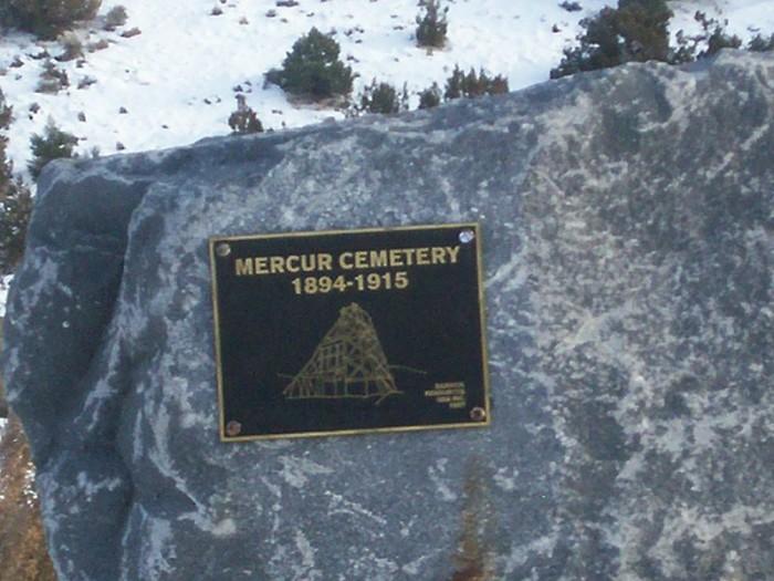 3) Mercur Cemetery, Tooele County
