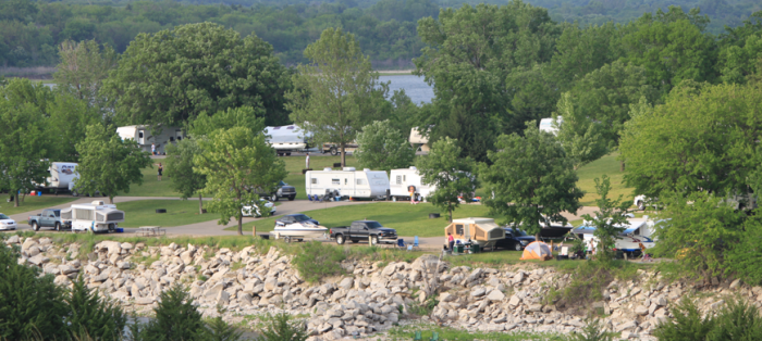 10 unforgettable kansas camping spots for Plenty of fish kc