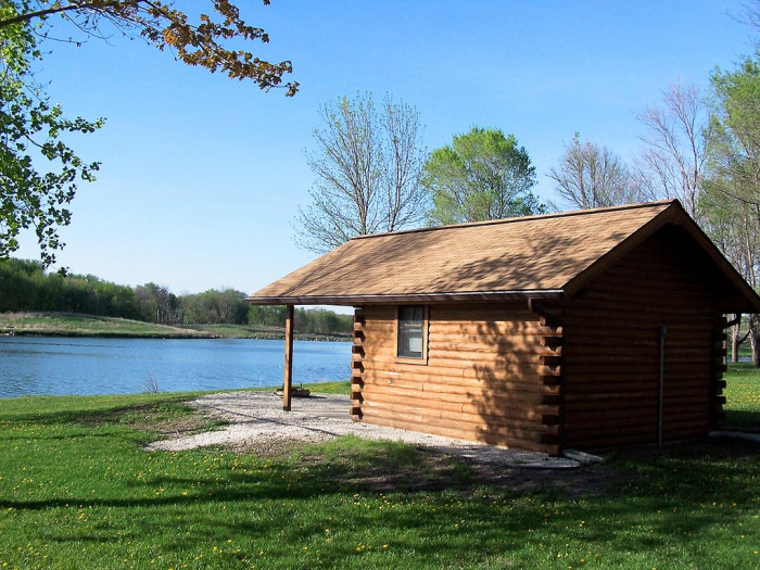 10 of the best camping spots in iowa for Cottages at camp creek