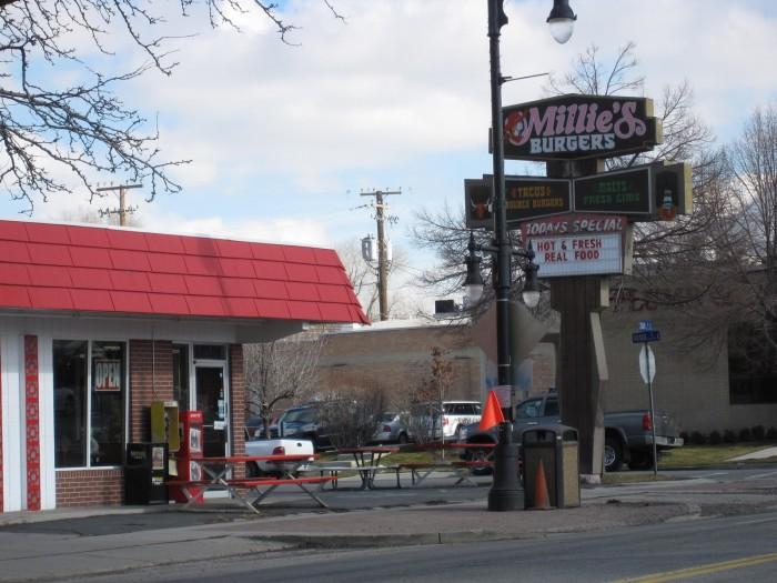 8) Millie's Burgers, Sugarhouse