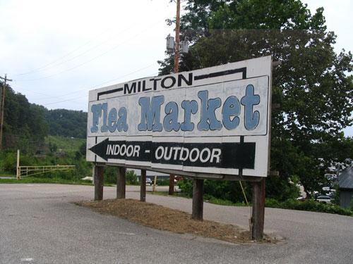 6. The Milton Flea Market