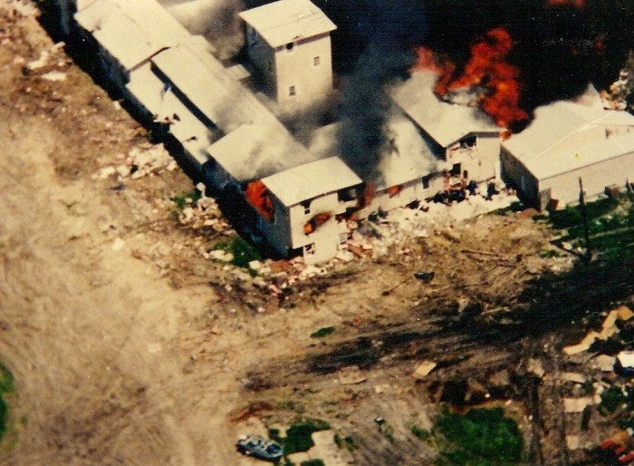 6) When federal agents raided the Branch Davidian compound in Waco in 1993.