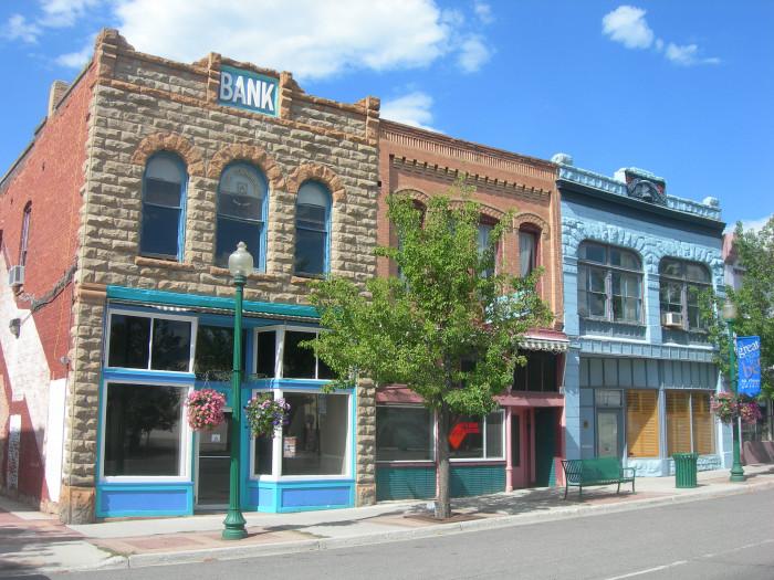 1) Mt. Pleasant, Sanpete County, pop. 3,278