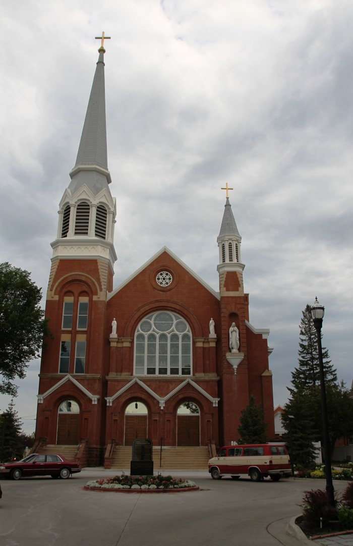 4. Cathedral of St. Mary in Fargo, North Dakota.