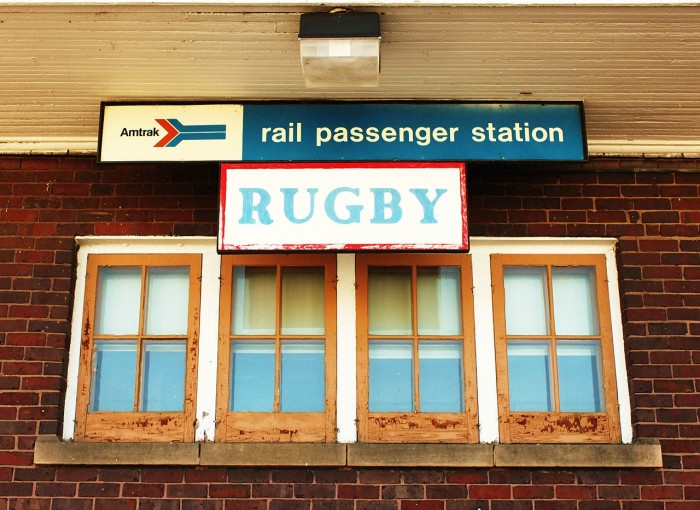 6. The town of Rugby is the geographical center of North America.