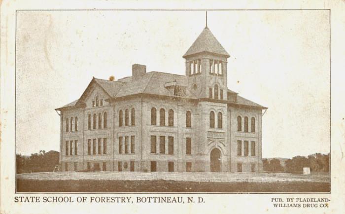 1. State School of Forestry in Bottineau, North Dakota, Circa 1911