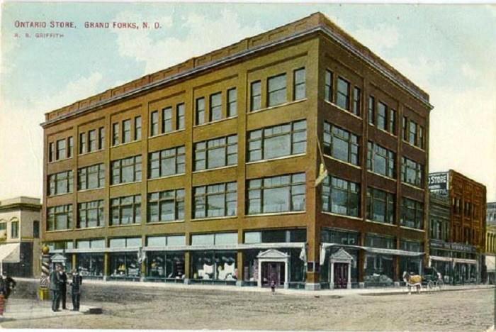 12. Ontario Store in Grand Forks, North Dakota, Circa 1923