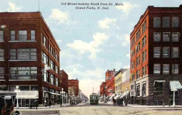 2. Downtown Grand Forks, North Dakota, Circa 1912