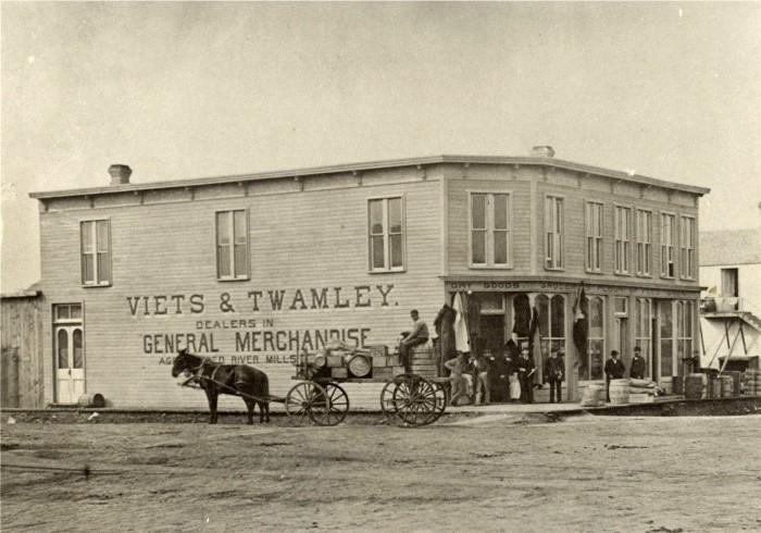 5. Store in Grand Forks, North Dakota, 1880