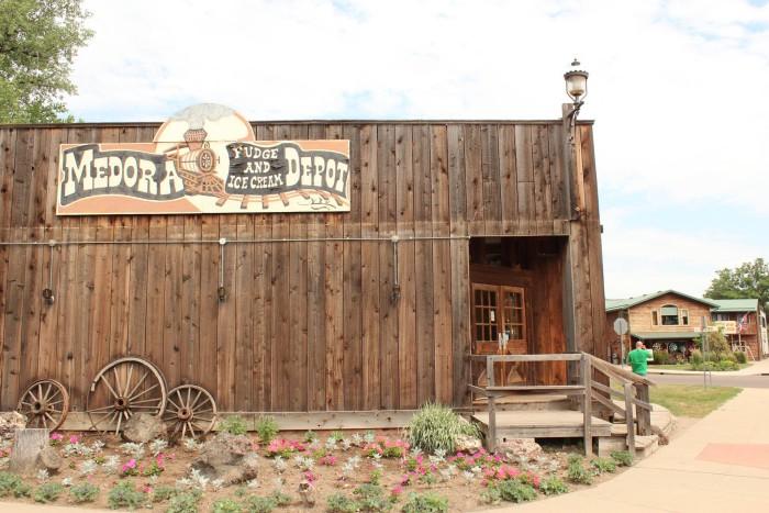 10. Medora Fudge & Ice Cream Depot - Medora, North Dakota