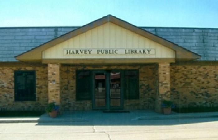 4. Harvey Public Library - Harvey, North Dakota