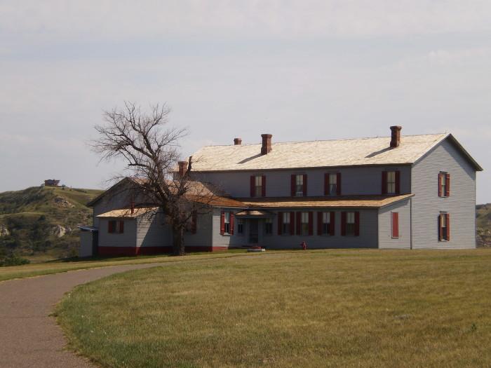 6. Chateau De Mores - Medora, North Dakota