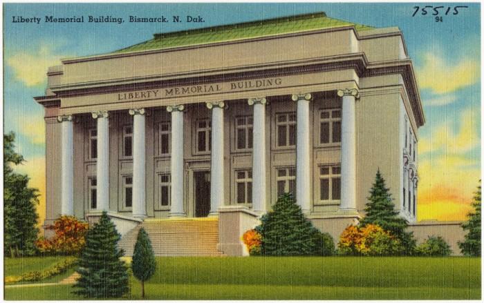 9. Liberty Memorial Building - Bismarck, North Dakota
