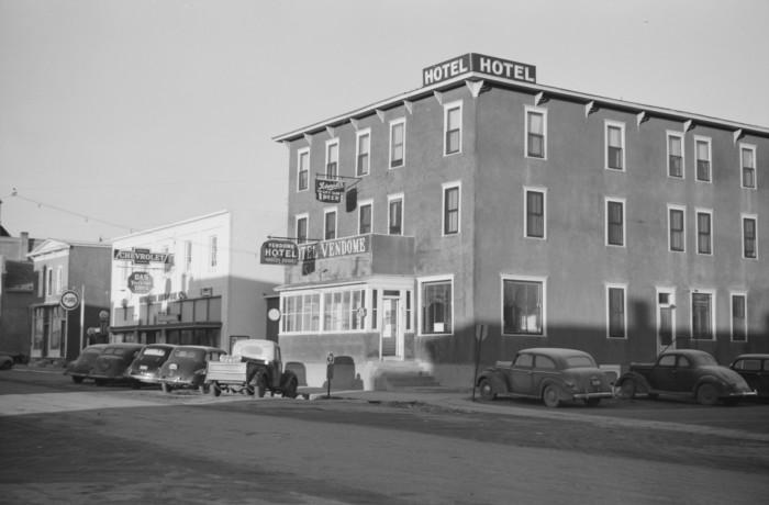 3. Hotel Vendome in Rolla, North Dakota, 1940