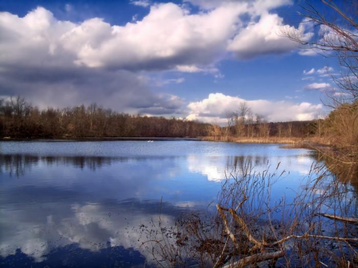 7. Columbia lake, Knowlton