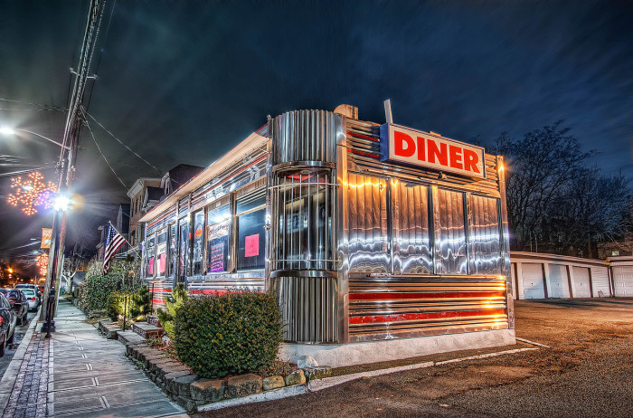 11. A real diner is open 24 hours.
