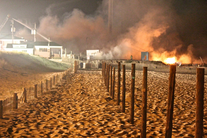 8. Seaside Park Fire - September 12, 2013
