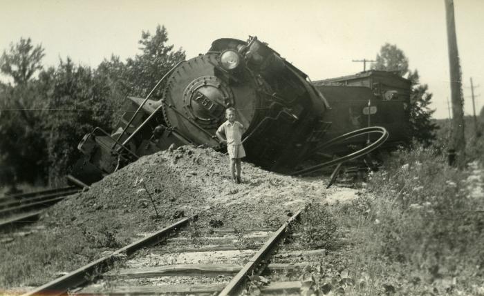 5. The derailment of engine 751