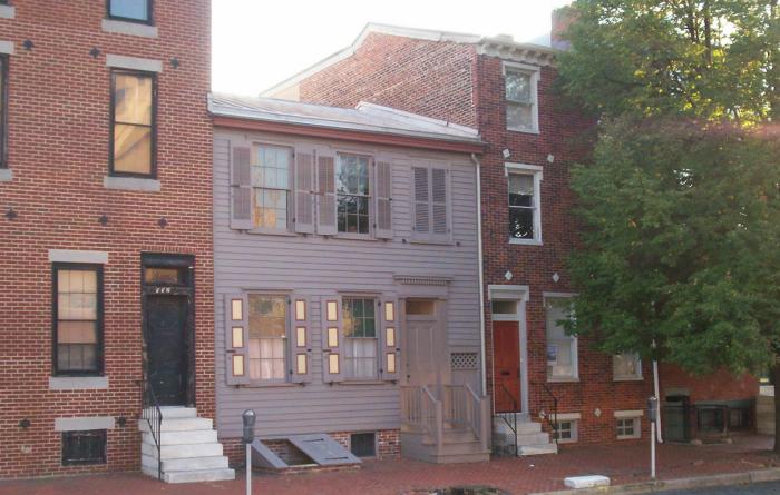 2. Walt Whitman House, Camden