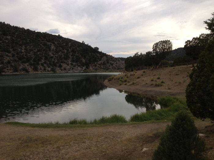 2. Cave Lake State Park