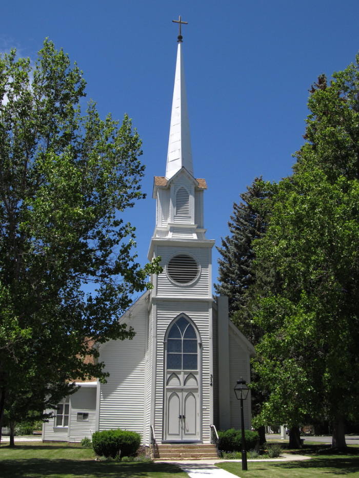 8. St. Peter's Episcopal Church in Carson City, Nevada.