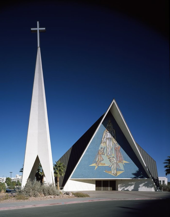 9. Guardian Angel Catholic Cathedral in Las Vegas, Nevada.