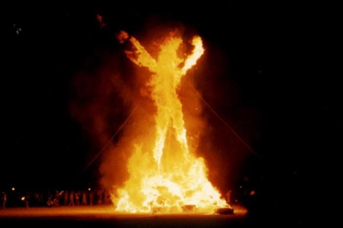 15. You've attended the Burning Man Festival in the Black Rock Desert.