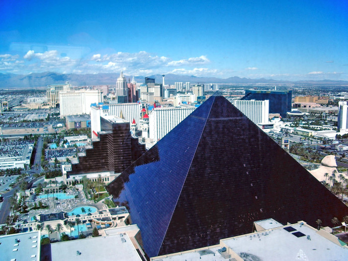 8. Luxor Hotel & Casino - Las Vegas, NV