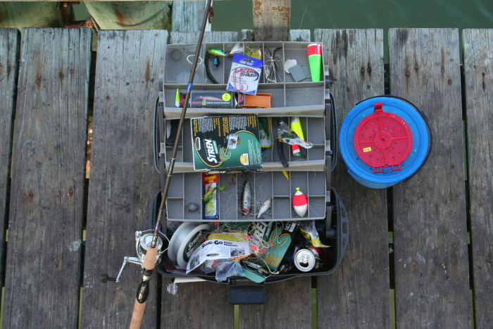 6. Fishing Rod & Tackle Box