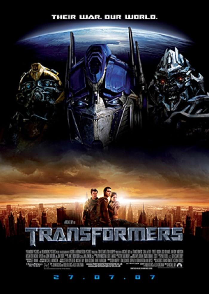 7. Transformers (2007)