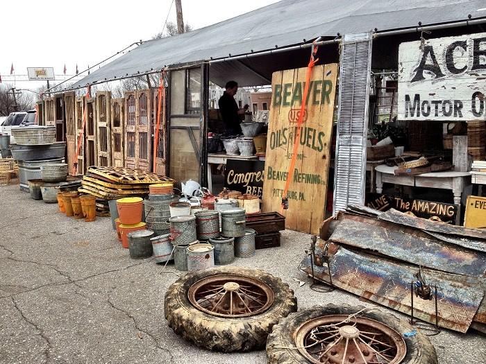 6) Nashville Flea Market - Nashville
