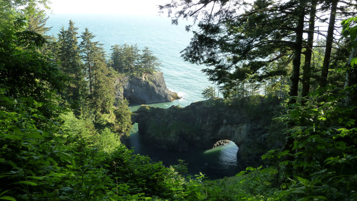 7) Natural Bridge campground, Rogue River-Siskiyou National Forest