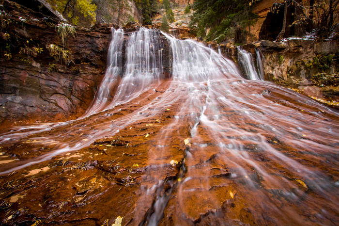 15) North Creek Waterfall, Zions National Park