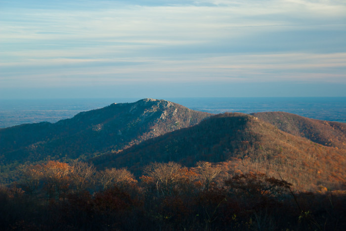 8. Old Rag off the Skyline Drive, near Sperryville