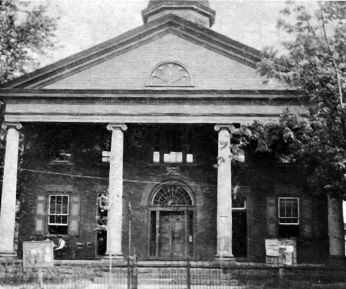 4. The old Hampshire County Courthouse