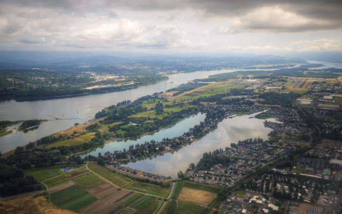 5) Oregon-Washington Border