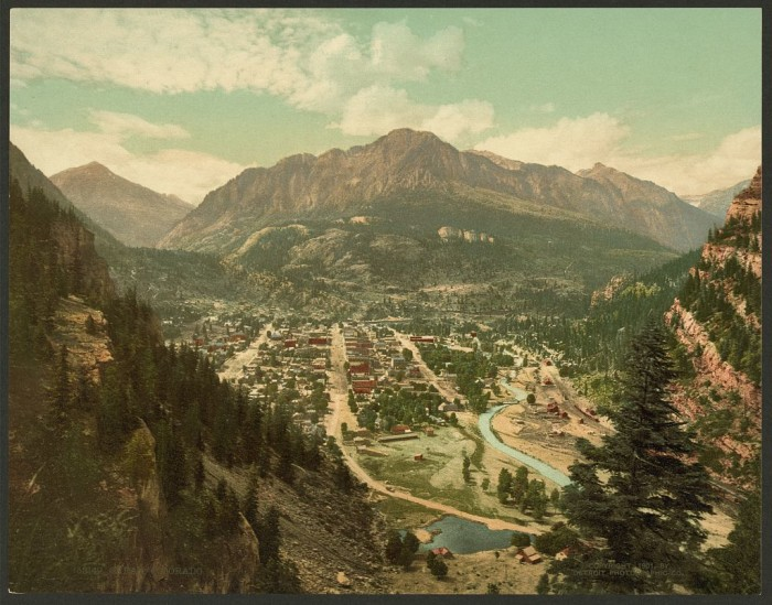 1.) Ouray