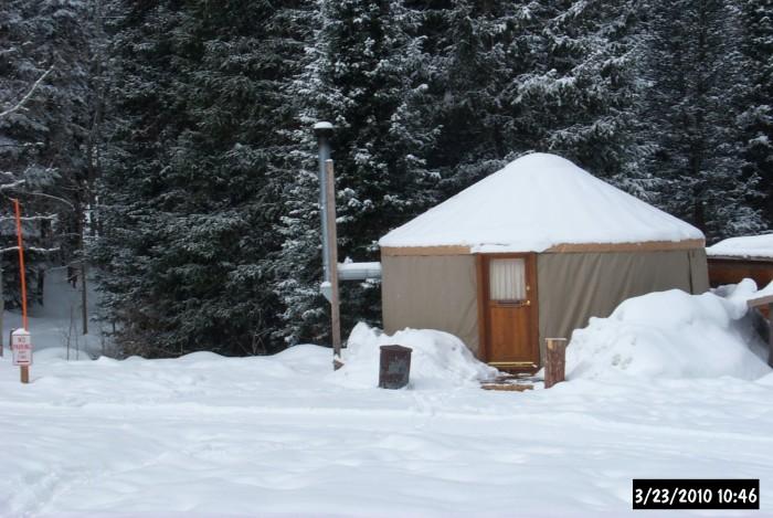 3) Big Water Yurt, Millcreek Canyon