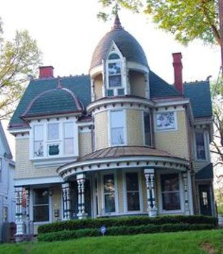 8. Painted Lady House
