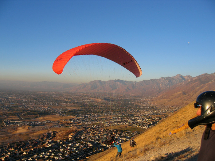 5) Jump Off a Cliff at Flight Park State Recreation Area