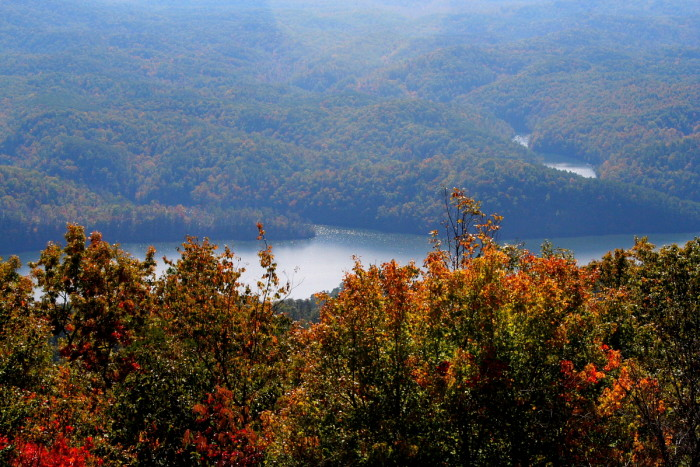 6) Parksville Lake - Cherokee National Forest