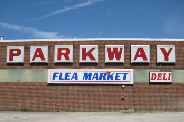 12.Parkway Flea Market in St. Albans.