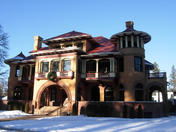 7. Patsy Clark Mansion, Spokane