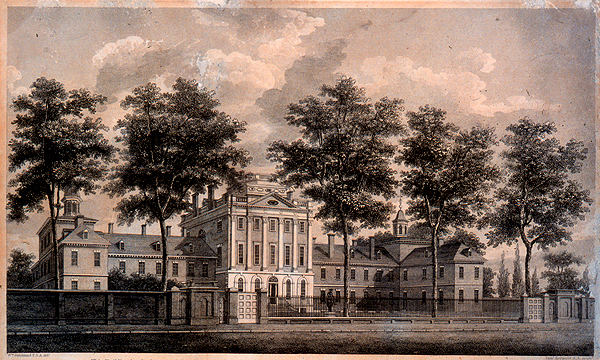 5. The first hospital in the country was the Philadelphia Hospital.