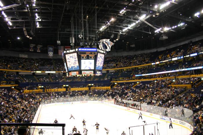 5) Bridgestone Arena - Nashville