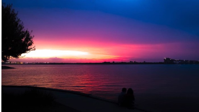 8) Lake Prien at Sunset