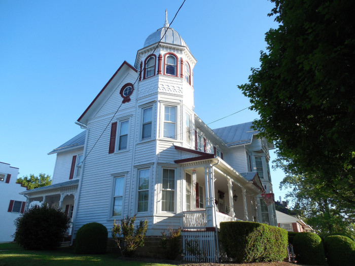 9. This Queen Anne style home in Franklin