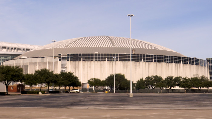 1) When the Astrodome, the world's first domed stadium, opened in Houston in 1965.